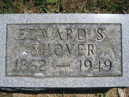 SHOVER, EDWARD S. - Union County, Ohio | EDWARD S. SHOVER - Ohio Gravestone Photos