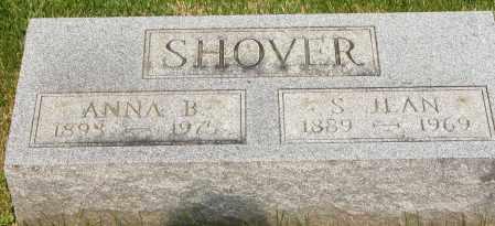 SHOVER, S. JEAN - Union County, Ohio | S. JEAN SHOVER - Ohio Gravestone Photos