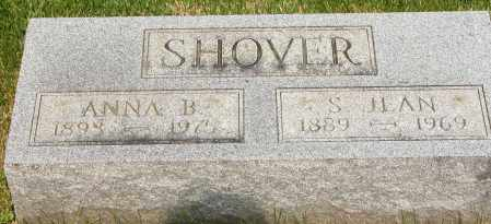 SHOVER, ANNA B. - Union County, Ohio | ANNA B. SHOVER - Ohio Gravestone Photos
