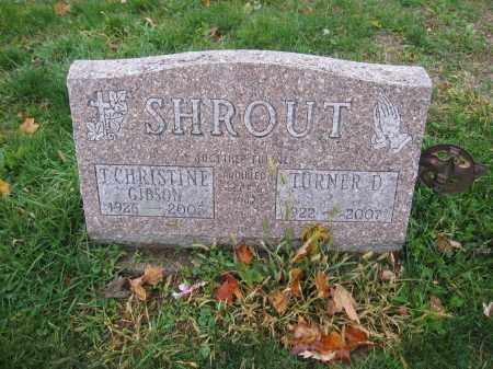 SHROUT, TURNER D. - Union County, Ohio   TURNER D. SHROUT - Ohio Gravestone Photos