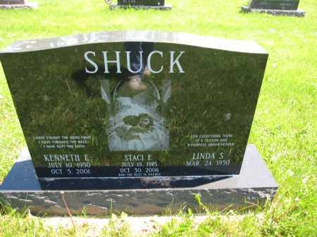 SHUCK, STACI E. - Union County, Ohio | STACI E. SHUCK - Ohio Gravestone Photos