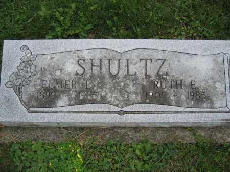 SHULTZ, ELMER L. - Union County, Ohio | ELMER L. SHULTZ - Ohio Gravestone Photos