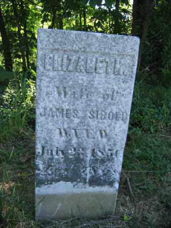 SIBOLD, ELIZABETH - Union County, Ohio | ELIZABETH SIBOLD - Ohio Gravestone Photos