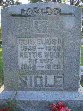 SIDLE, CORNELIUS D. - Union County, Ohio   CORNELIUS D. SIDLE - Ohio Gravestone Photos