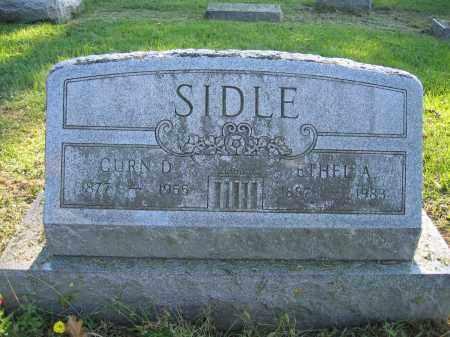 SIDLE, CURN D. - Union County, Ohio | CURN D. SIDLE - Ohio Gravestone Photos