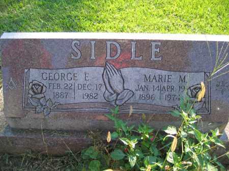 SIDLE, MARIE M. - Union County, Ohio | MARIE M. SIDLE - Ohio Gravestone Photos
