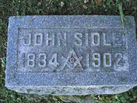 SIDLE, JOHN - Union County, Ohio | JOHN SIDLE - Ohio Gravestone Photos