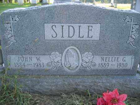 SIDLE, NELLIE G. - Union County, Ohio | NELLIE G. SIDLE - Ohio Gravestone Photos
