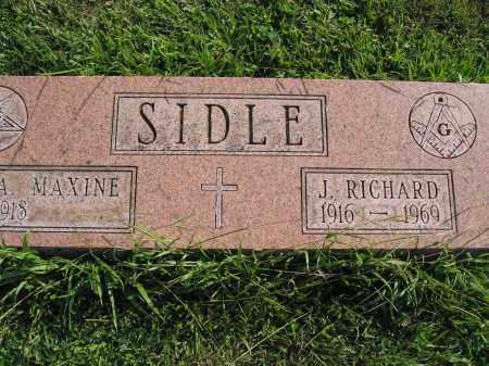 SIDLE, J. RICHARD - Union County, Ohio | J. RICHARD SIDLE - Ohio Gravestone Photos