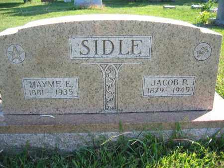 SIDLE, JACOB P. - Union County, Ohio | JACOB P. SIDLE - Ohio Gravestone Photos