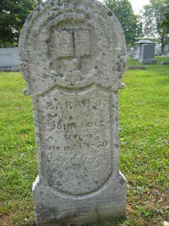 SIDLE, SARAH J. - Union County, Ohio | SARAH J. SIDLE - Ohio Gravestone Photos