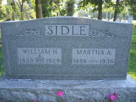 SIDLE, WILLIAM H. - Union County, Ohio | WILLIAM H. SIDLE - Ohio Gravestone Photos