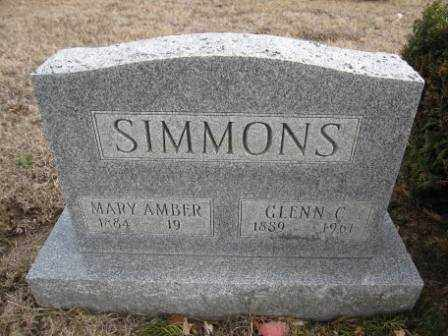 SIMMONS, GLENN C. - Union County, Ohio | GLENN C. SIMMONS - Ohio Gravestone Photos