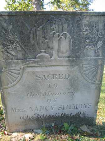 SIMMONS, NANCY - Union County, Ohio | NANCY SIMMONS - Ohio Gravestone Photos