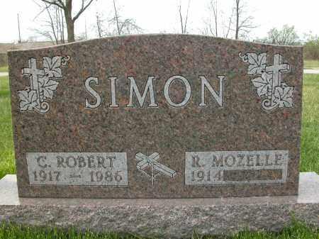 SIMON, C. ROBERT - Union County, Ohio | C. ROBERT SIMON - Ohio Gravestone Photos