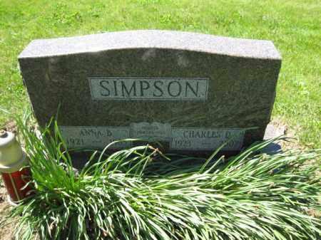 SIMPSON, CHARLES D. - Union County, Ohio | CHARLES D. SIMPSON - Ohio Gravestone Photos