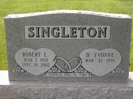 SINGLETON, ROBERT E. - Union County, Ohio | ROBERT E. SINGLETON - Ohio Gravestone Photos