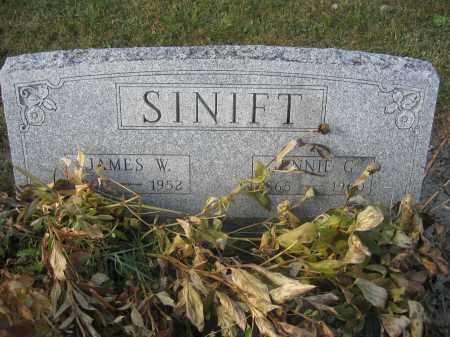 SINIFT, JENNIE G. - Union County, Ohio | JENNIE G. SINIFT - Ohio Gravestone Photos