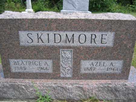 SKIDMORE, BEATRICE A. - Union County, Ohio | BEATRICE A. SKIDMORE - Ohio Gravestone Photos