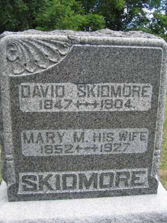 SKIDMORE, MARY M. - Union County, Ohio   MARY M. SKIDMORE - Ohio Gravestone Photos