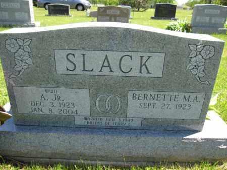 SLACK, A. - Union County, Ohio   A. SLACK - Ohio Gravestone Photos