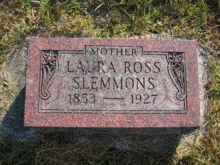 SLEMMONS, LAURA ROSS - Union County, Ohio   LAURA ROSS SLEMMONS - Ohio Gravestone Photos