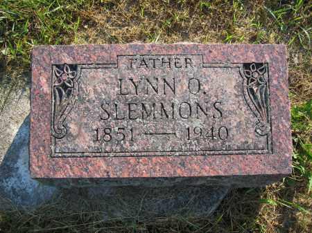 SLEMMONS, LYNN O. - Union County, Ohio   LYNN O. SLEMMONS - Ohio Gravestone Photos