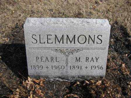 SLEMMONS, M. RAY - Union County, Ohio | M. RAY SLEMMONS - Ohio Gravestone Photos