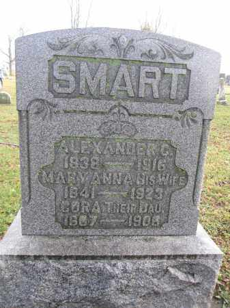 SMART, MARY ANNA HARPER - Union County, Ohio | MARY ANNA HARPER SMART - Ohio Gravestone Photos