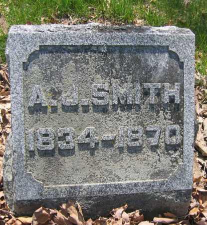 SMITH, A.J. - Union County, Ohio   A.J. SMITH - Ohio Gravestone Photos