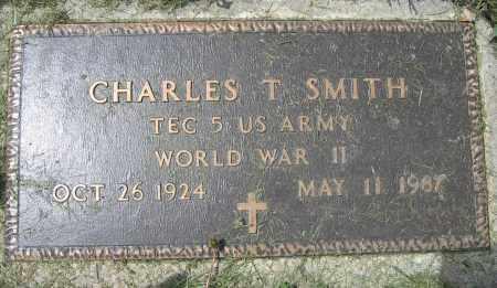 SMITH, CHARLES T. - Union County, Ohio | CHARLES T. SMITH - Ohio Gravestone Photos