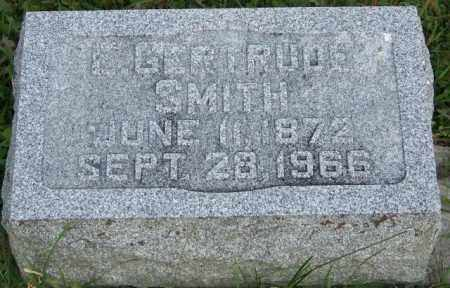SMITH, GERTRUDE - Union County, Ohio | GERTRUDE SMITH - Ohio Gravestone Photos