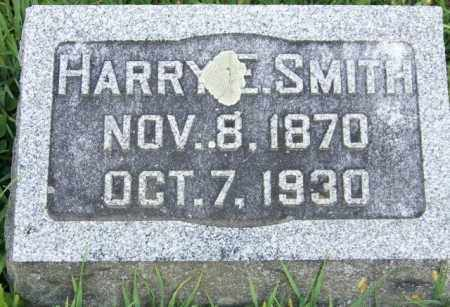 SMITH, HARRY E - Union County, Ohio | HARRY E SMITH - Ohio Gravestone Photos