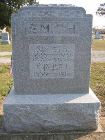 SMITH, SAMUEL B. - Union County, Ohio | SAMUEL B. SMITH - Ohio Gravestone Photos