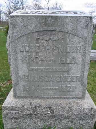 SNIDER, JOSEPH - Union County, Ohio | JOSEPH SNIDER - Ohio Gravestone Photos