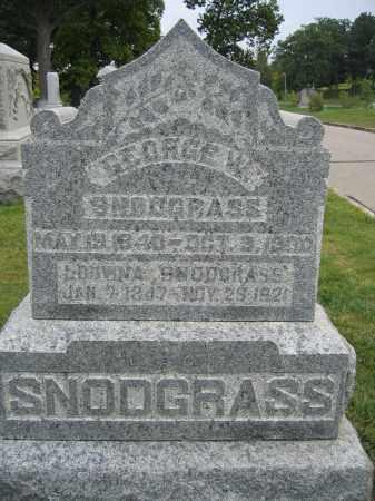 SNODGRASS, LOUVINA - Union County, Ohio   LOUVINA SNODGRASS - Ohio Gravestone Photos