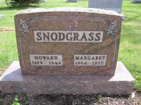 SNODGRASS, HOWARD - Union County, Ohio | HOWARD SNODGRASS - Ohio Gravestone Photos