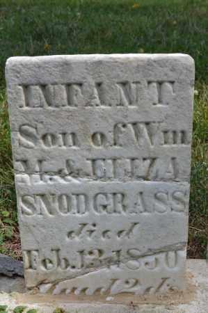 SNODGRASS, INFANT SON - Union County, Ohio | INFANT SON SNODGRASS - Ohio Gravestone Photos
