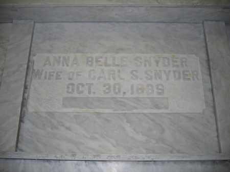 SNYDER, ANNA BELLE - Union County, Ohio | ANNA BELLE SNYDER - Ohio Gravestone Photos