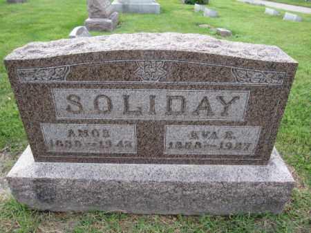 SOLIDAY, CARL AMOS - Union County, Ohio | CARL AMOS SOLIDAY - Ohio Gravestone Photos