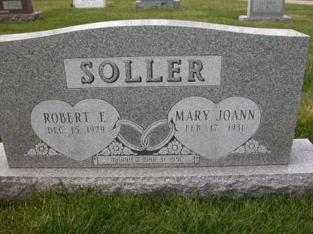 SOLLER, ROBERT E - Union County, Ohio | ROBERT E SOLLER - Ohio Gravestone Photos