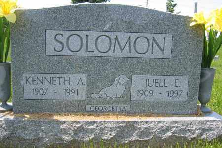 SOLOMON, KENNETH A. - Union County, Ohio | KENNETH A. SOLOMON - Ohio Gravestone Photos