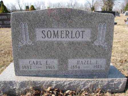 SOMERLOT, CARL E. - Union County, Ohio | CARL E. SOMERLOT - Ohio Gravestone Photos