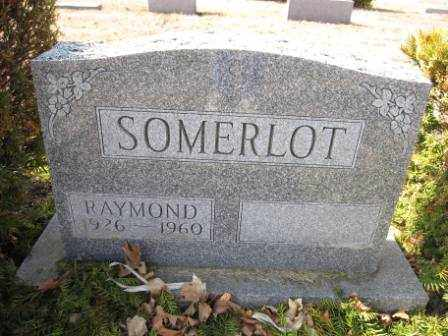 SOMERLOT, RAYMOND - Union County, Ohio | RAYMOND SOMERLOT - Ohio Gravestone Photos