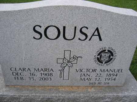 SOUSA, CLARA MARIA - Union County, Ohio | CLARA MARIA SOUSA - Ohio Gravestone Photos