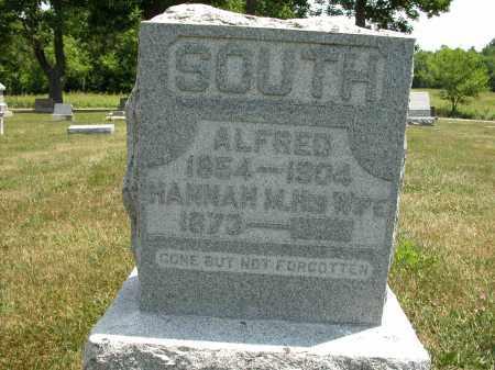 SOUTH, HANNAH M. - Union County, Ohio   HANNAH M. SOUTH - Ohio Gravestone Photos