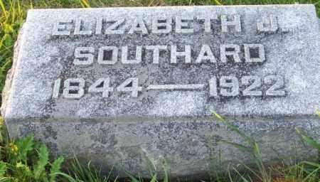 SOUTHARD, ELIZABETH J - Union County, Ohio | ELIZABETH J SOUTHARD - Ohio Gravestone Photos