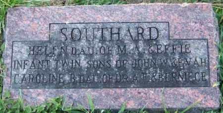 SOUTHARD, INFANT TWIN SONS - Union County, Ohio | INFANT TWIN SONS SOUTHARD - Ohio Gravestone Photos