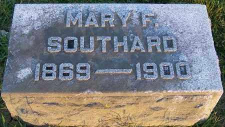 SOUTHARD, MARY F - Union County, Ohio   MARY F SOUTHARD - Ohio Gravestone Photos