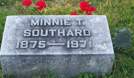 SOUTHARD, MINNIE T - Union County, Ohio | MINNIE T SOUTHARD - Ohio Gravestone Photos